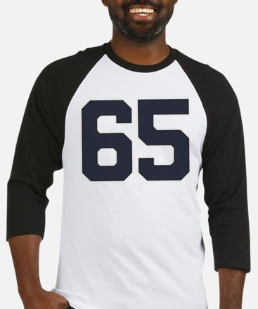 65 65th Birthday 65 Years Old Baseball Jersey