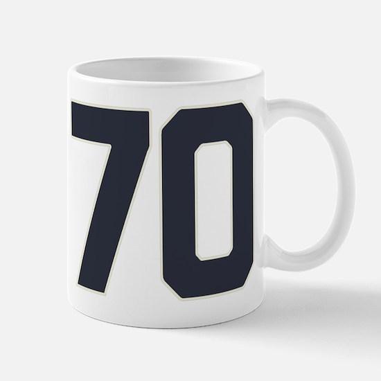 70 70th Birthday 70 Years Old Mug