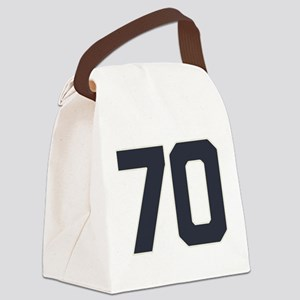 70 70th Birthday 70 Years Old Canvas Lunch Bag