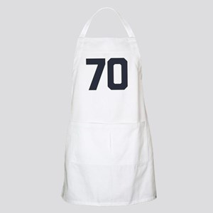 70 70th Birthday 70 Years Old Apron