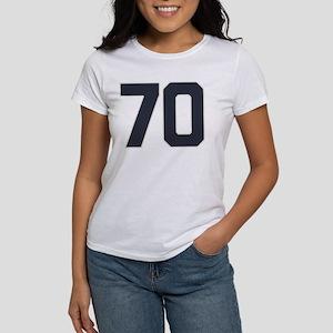 70 70th Birthday 70 Years Old Women's T-Shirt