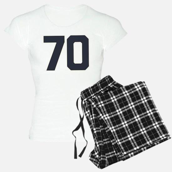 70 70th Birthday 70 Years O Pajamas
