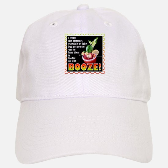Tomatoes with Booze? Bloody Mary Baseball Baseball Baseball Cap