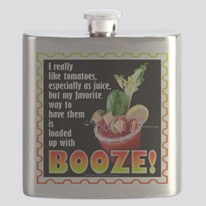 Tomatoes with Booze? Bloody Mary Flask