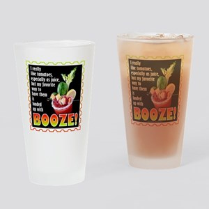 Tomatoes with Booze? Bloody Mary Drinking Glass