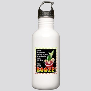 Tomatoes with Booze? Bloody Mary Water Bottle