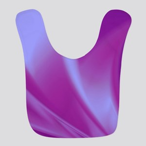 Veils of Purple Fractal Bib