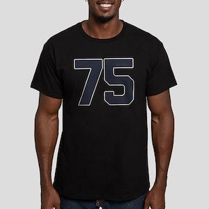75 75th Birthday 75 Ye Men's Fitted T-Shirt (dark)