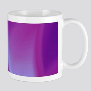 Veils of Purple Fractal Mugs