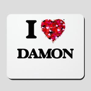 I Love Damon Mousepad