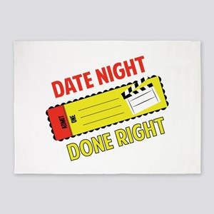 Date Night  5'x7'Area Rug