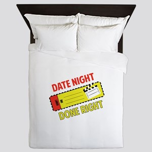 Date Night   Queen Duvet