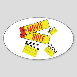 Movie Buff Sticker