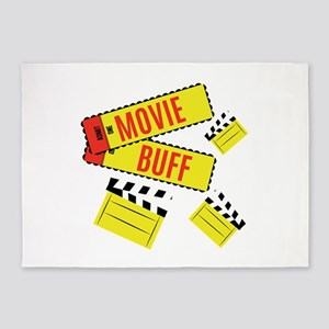 Movie Buff 5'x7'Area Rug