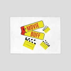 Movie Buff 5'x7'Area Rug