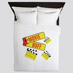 Movie Buff Queen Duvet