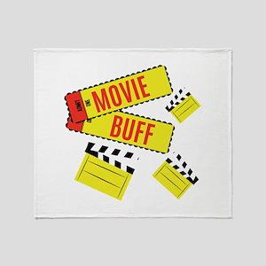 Movie Buff Throw Blanket
