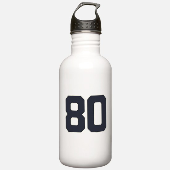 80 80th Birthday 80 Ye Water Bottle
