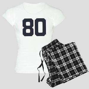 80 80th Birthday 80 Years O Women's Light Pajamas