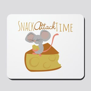 Snack Attack Time Mousepad