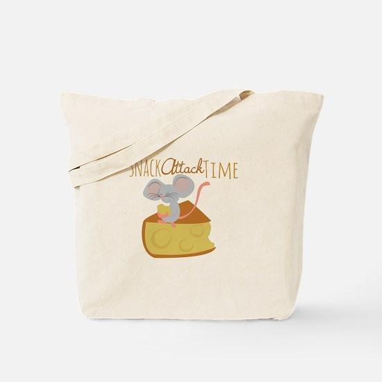 Snack Attack Time Tote Bag