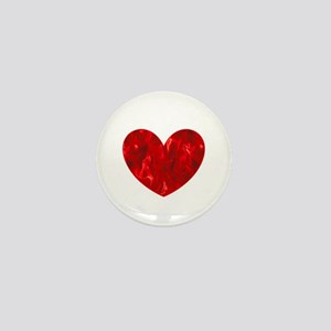 Hearts Afire Valentines Day Diva for M Mini Button