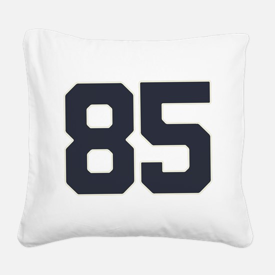 85 Happy 85th Birthday Boy Gi Square Canvas Pillow