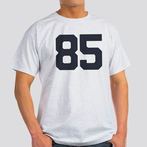 85 Happy 85th Birthday Boy Girl. 85 Light T-Shirt