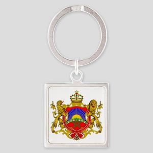 RightOn Morocco Square Keychain