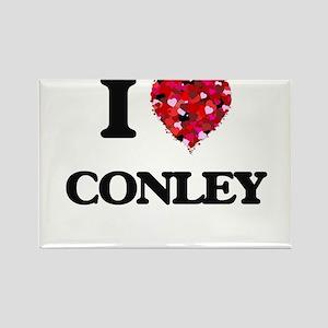 I Love Conley Magnets