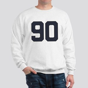 90 90th Birthday 90 Years Old Sweatshirt
