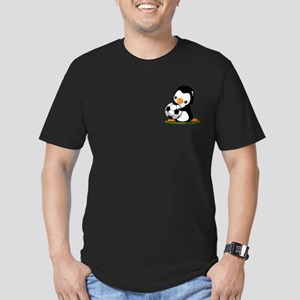 I Love Soccer (5) Men's Fitted T-Shirt (dark)