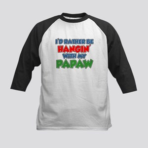 Rather Be With Papaw Baseball Jersey