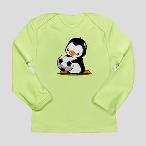 I Love Soccer (5) Long Sleeve Infant T-Shirt
