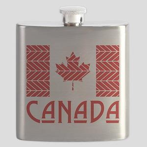 Chevron Canada Flask