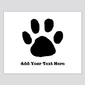 Paw Print Template Posters