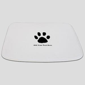 Paw Print Template Bathmat