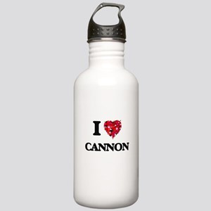 I Love Cannon Stainless Water Bottle 1.0L