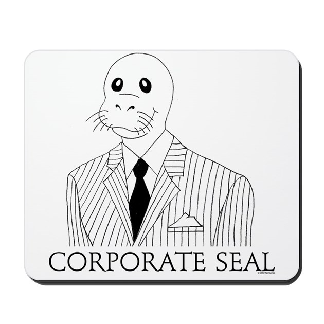 Electronic corporate seal