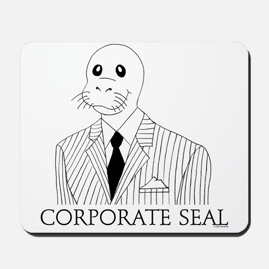 Corporate Seal Mousepad