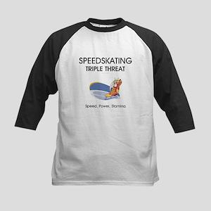 TOP Speedskating Kids Baseball Jersey