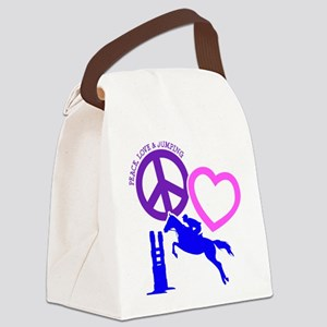 P,L,JUMPING Canvas Lunch Bag