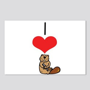 Beaver Postcards (Package of 8)