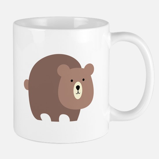 Brown Bear Mugs
