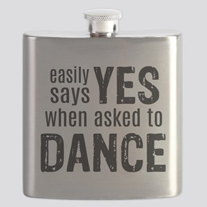 Says Yes when Asked to Dance Flask