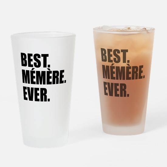 Best Memere Ever Drinkware Drinking Glass
