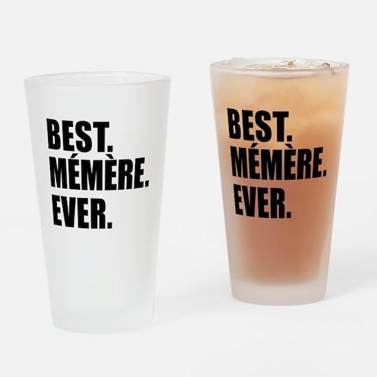 Best Memere Ever Drinkware Drinking Glass