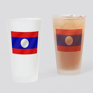 Flag of Laos Drinking Glass