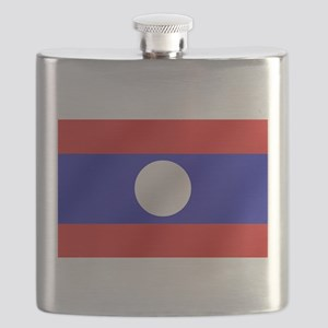 Flag of Laos Flask