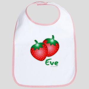 """Eve"" Strawberry Bib"